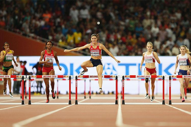 how to run hurdles
