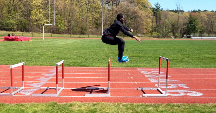 how to run hurdles