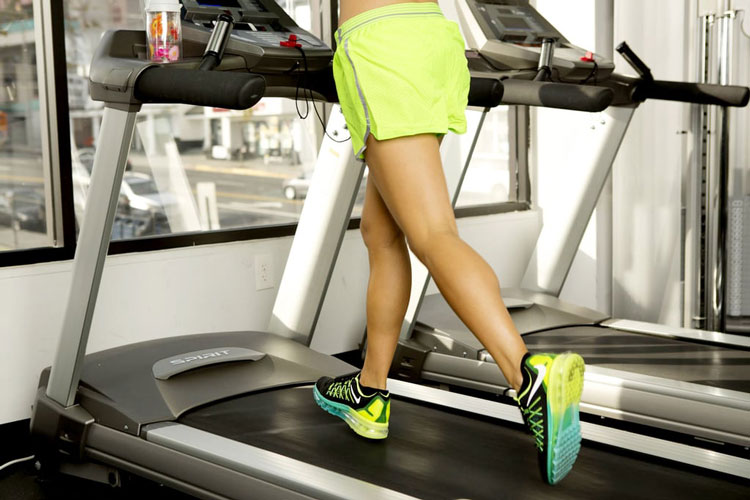marathon training on treadmill